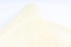 Фетр Ламинированный 50см*10м Паутинка  крем  (Н)