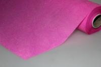 фетр фетр с блестками (50см x 15м) корея - малиновый 7599