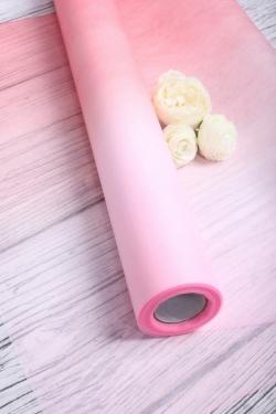 Фетр 50см х 15м Двухцветный малиново-розовый Корея   143142966