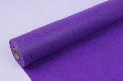 Фетр выбитый  50см 10м,  Цветы - фиолетовый (Н)