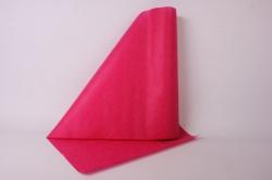 фетр выбитый 50см*10м,  цветы ярко розовый (н)