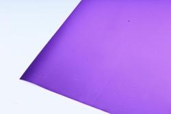 Флористическая пленка, металлическая, 58 см х 5 м, Сиреневый (М)