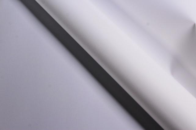 Флористическая пленка, перламутровая, 58 см х 5 м, Белый (М)