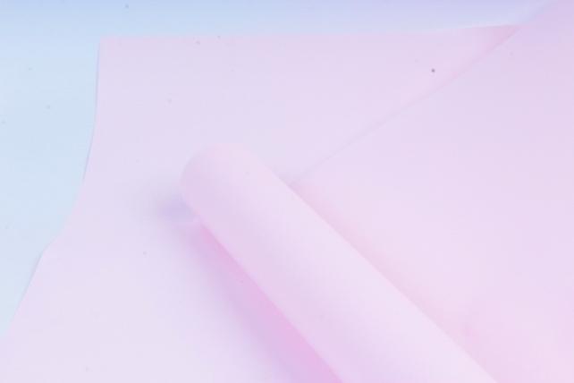 Флористическая пленка, перламутровая, 58 см х 5 м, Розовый (М)