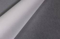 """Флористическая пленка с мерцанием """"Шелк"""", 60 см х 5 м., Белый"""