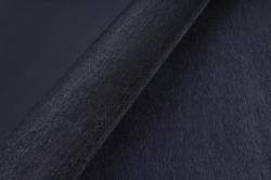 """Флористическая пленка с мерцанием """"Шелк"""", 60 см х 5 м., Черный"""