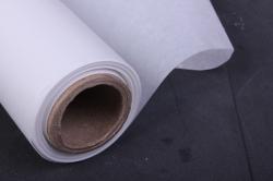 флористический пергамент, 50см*10м белый (н)