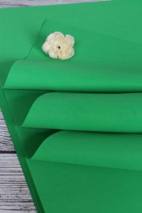 Фоамиран 1,2мм 60*70см/10л в уп  Зелёный 3837Н