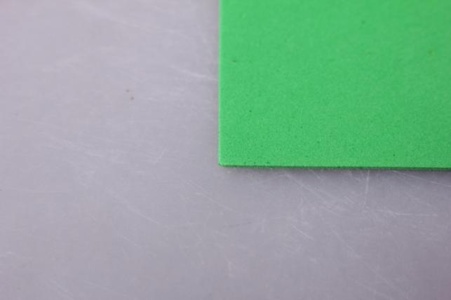 фоамиран 015 - light green (зелёное яблоко) 60х70см