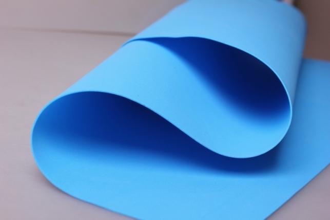 Фоамиран 018 - DARK BLUE (синий) 60*70см