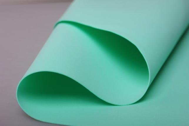 Фоамиран 024 - Light GREEN (мятный) 60*70см