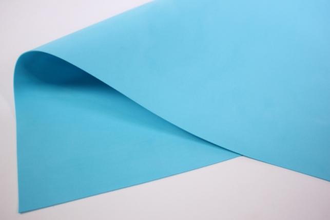фоамиран 60*70см (средне-голубой) 017-1 - blue