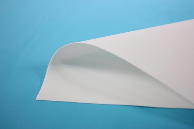 Фоамиран - набор 5 листов, 30*35см, цвет 001 (белый)