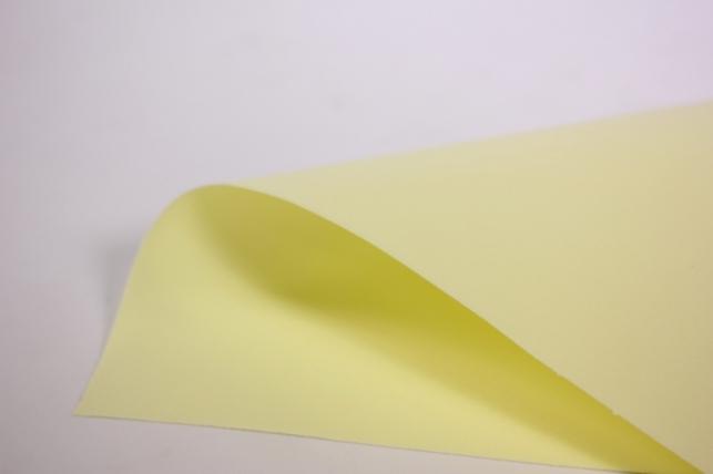 фоамиран - набор 5 листов, 30*35см, цвет 004 (лимонный)