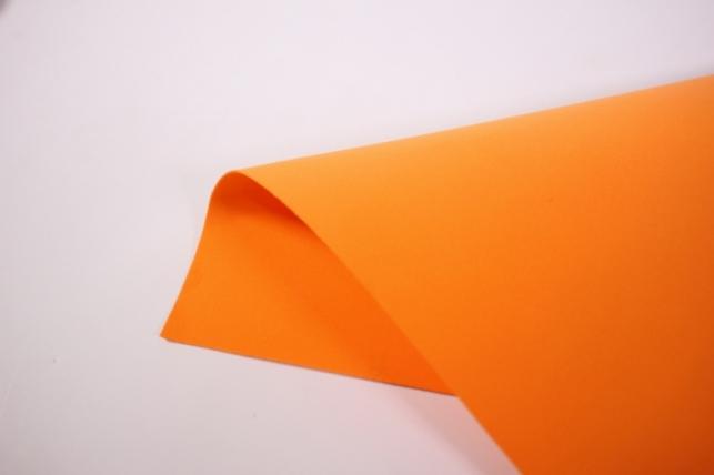 фоамиран - набор 5 листов, 30*35см, цвет 007 (оранжевый)