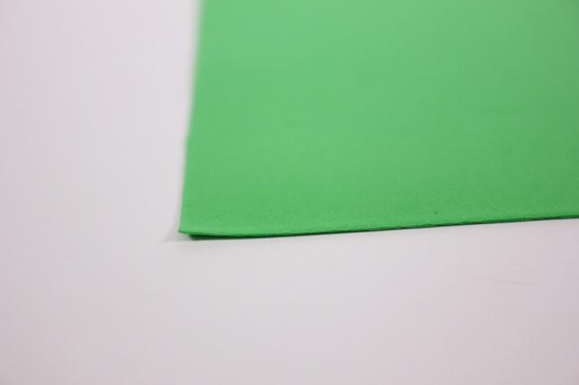 фоамиран - набор 5 листов, 30*35см, цвет 015 (зеленое яблоко)