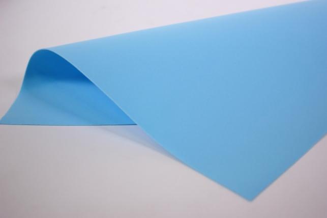 Фоамиран - набор 5 листов, 30*35см, цвет 017 (голубой)