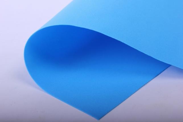 Фоамиран - набор 5 листов, 30*35см, цвет 018 (синий)