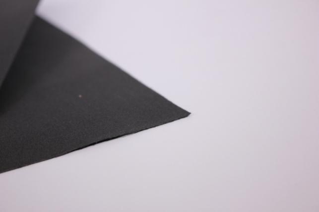 фоамиран - набор 5 листов, 30*35см, цвет 022 (черный)