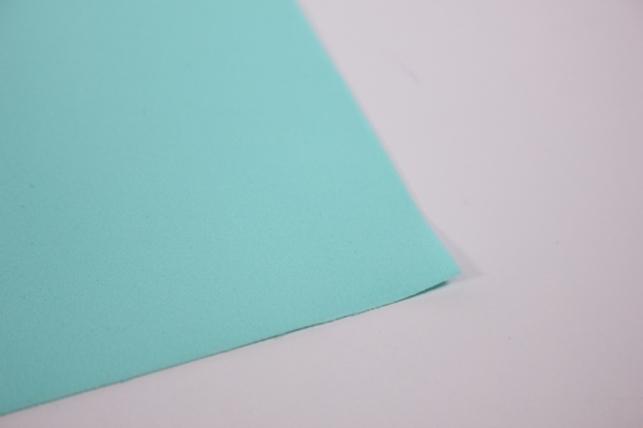 фоамиран - набор 5 листов, 30*35см, цвет 028 (аквамарин)