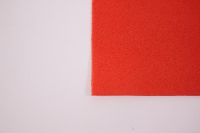 фоамиран - набор 5 листов, 30*35см, цвет 039 (томат)