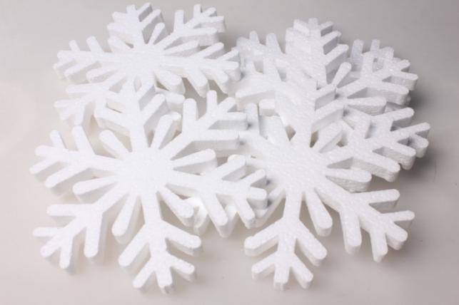 Форма из пенопласта - Снежинка 03-СВ9