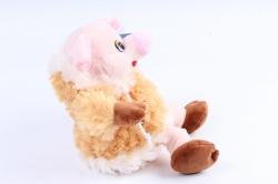 Мягкая игрушка (У) Поросёнок в  шубе  (якут) 18см  Д-19520/18