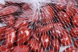 Галька цветная 400гр крупная бордовая (фракция 10-15 мм) 301789040503