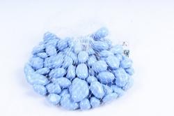 Галька цветная 400гр крупная голубая (фракция 10-15 мм) 301789040504
