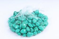 Галька цветная 400гр крупная изумруд (фракция 10-15 мм) 301789040507