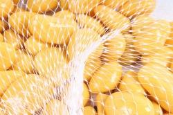 Галька цветная 400гр крупная лимонная (фракция 10-15 мм) 301789040509
