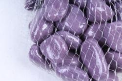 Галька цветная 400гр крупная сиреневая (фракция 10-15 мм) 301789040516