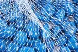 Галька цветная 400гр крупная темно-синяя (фракция 10-15 мм) 301789040518