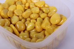 галька цветная  лимонная (фракция 5-10 мм)301788020009