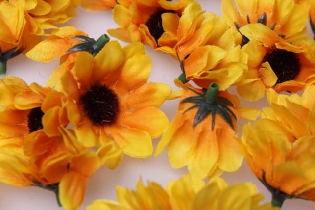 гелениум цветые 3,5см (60шт в уп) 3275 - искусственные растения