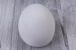 гипсовая фигурка яйцо большое 8*6см, арт. п-16 (1шт в уп)