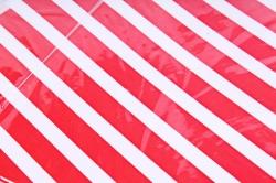 Гирлянда Флажки, Полосы, Красный, 250 см, 6224649