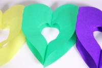 гирлянда радуга (сердца), 3м  6014511