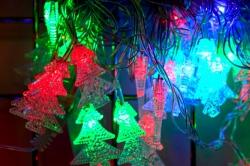 Гирлянда светодиодная 3м елочки для помещения