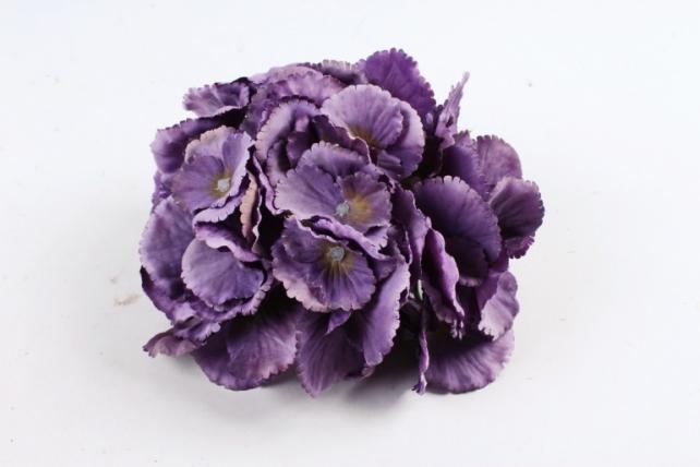 Головка гортензии фиолетовый  3512