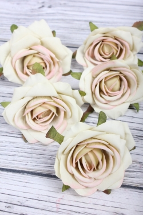 Головка Розы 7*4 см олива (5 шт в уп) 9KW7736