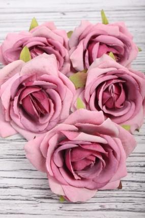 Головка Розы 7*4 см пыльная роза (5 шт в уп) 9KW7734