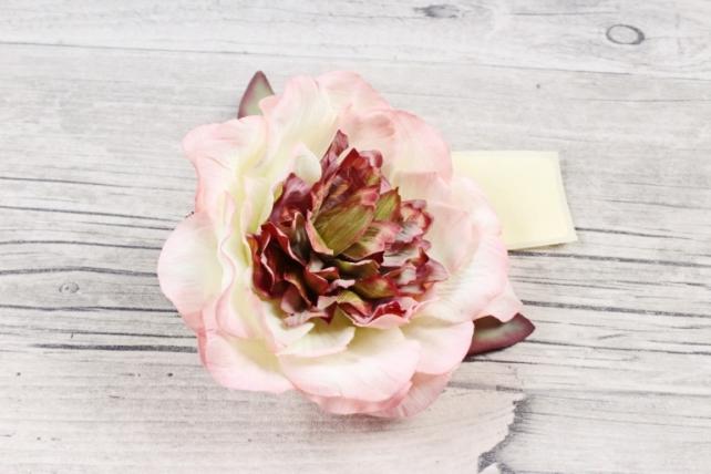 Головка розы  Ретро Светло-розовая 1шт  9KW7745