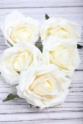 Головка Розы 7*5.5 см шампань (5 шт в уп) 9KW7444BIA