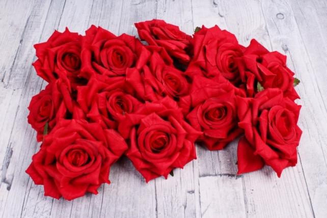 Головка Розы красный (12шт в уп) 8KL690CZE