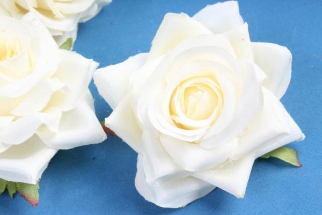 Головка Розы кремовые (в уп. 24 шт)     ART117  7143