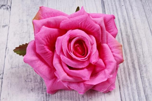 Головка Розы малиновый  (12шт в уп) 8KL690CROZ