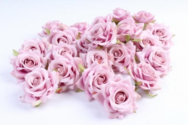 Головка Розы пыльная роза ( в уп. 24 шт)     ART117  7143