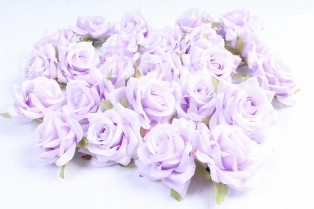 Головка Розы светло-сиреневый ( в уп. 24 шт)   ART117  7143