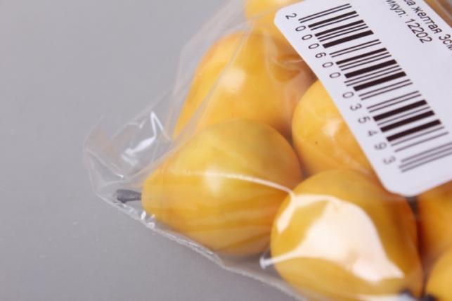 груша желтая 3см (10шт)